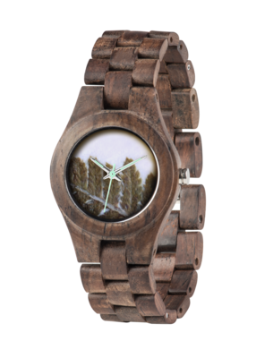WeWood Criss Fern Choco Rough