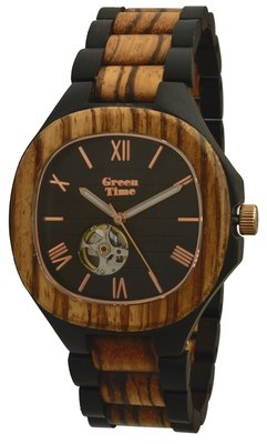 GreenTime Automatic Zebrano