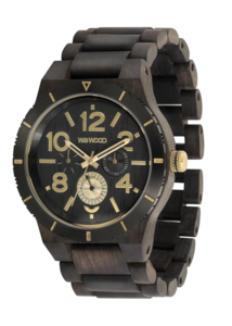 WeWood Kardo Black Rough Gold