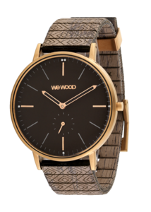 WeWood Albacore Rose Gold Black Choco
