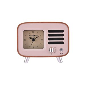 GreenTime Music Clock Sapele