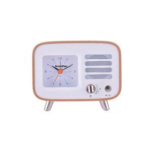 GreenTime Music Clock Wood